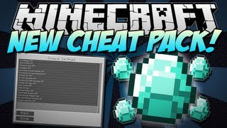 Minecraft | NEW CHEAT PACK! (Make Minecraft Super Easy!) | Mod Showcase [1.5.1]