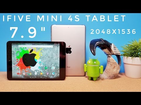 FNF Ifive Mini 4S Tablet REVIEW - An iPad Mini on a Budget?