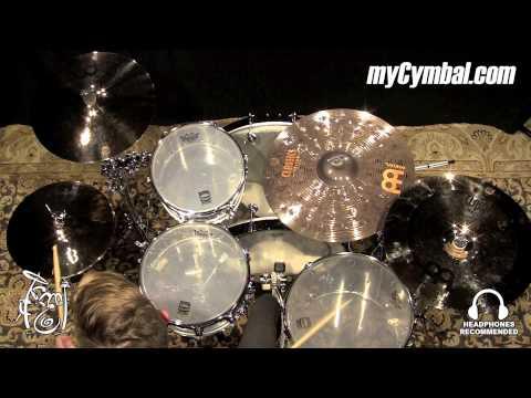 Meinl 14″ Classics Custom Powerful Hi Hat Cymbals – Played by Luke Holland (CC14PH-B-1092614CC)
