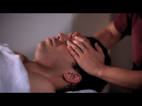 How to Stroke the Eye Sockets | Head Massage