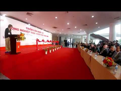 Thứ trưởng Đỗ Thắng Hải phát biểu khai mạc Vietnam FoodExpo 2018