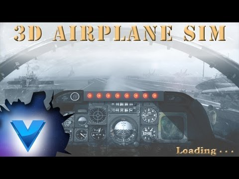 Video of 3D Airplane Flight Simulator