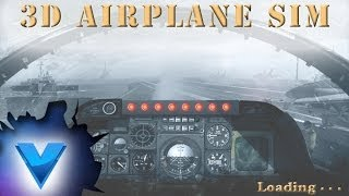 3D Airplane Flight Simulator Vídeo YouTube