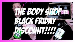 THE BODY SHOP AMAZING BLACK FRIDAY GIVE IDEAS! by Wayne Goss