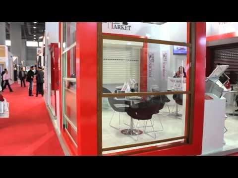 Sinaş Alüminyum Yeni Ürünü Hareketli Küpeşte Giyotin Sistemiyle R+T Turkey Fuarına Katıldı