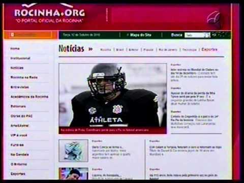 Portal Rocinha.org pleiteia ingresso no Guiness Book - Tv Brasil