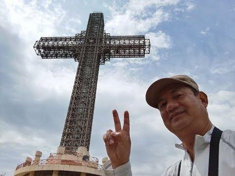 Under World Biggest Cross, Visit Macedonia