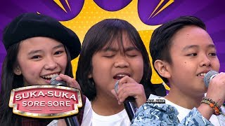 Video GOKIILL! Gogo, Anneth Dan Deven Idol Junior Nyanyiin Lagu Dangdut - Suka Suka Sore Sore (18/2) MP3, 3GP, MP4, WEBM, AVI, FLV Mei 2019