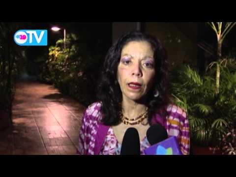 Compañera Rosario informa sobre sismo de 4.7 cerca del Volcán Momotombo