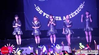 ℃-ute『The Curtain Rises』Live in Mexico 2017