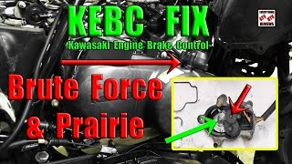8. How to Clean, Lube and Fix loud KEBC Actuator or 4x4 Actuator: BRUTE FORCE or PRAIRIE