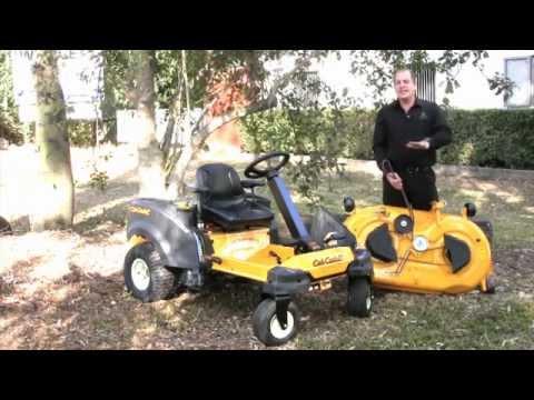 The Cub Cadet RZT S 46 Steering Wheel Zero Turn Mower