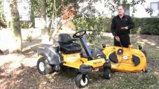 2. The Cub Cadet RZT S 46 Steering Wheel Zero Turn Mower