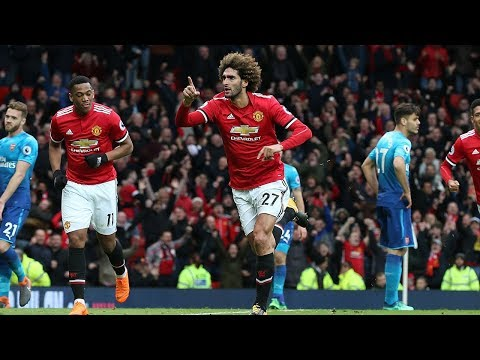 Video: Manchester United 2-1 Arsenal | Late Fellaini Header Denies Wenger's Men | Internet Reacts