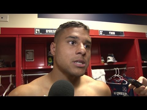 Video: Quincy Amarikwa on the Fire's 1-1 draw vs. the Revolution | Post Game