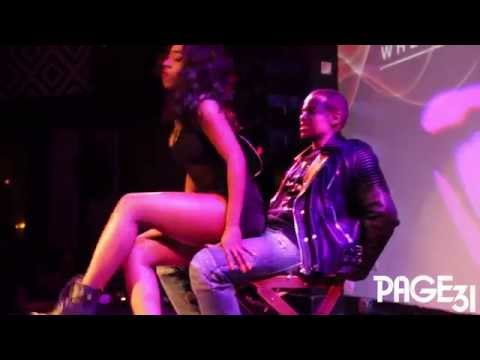 Sevyn Gives Mack Wild a Lap Dance!