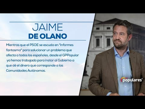 Repaso de Jaime de Olano a la ministra Montoro en ...