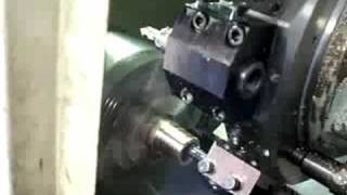 Okuma CNC lathe - YouTube