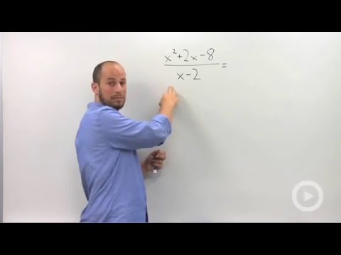 Algebra 2 – Dividing polynomials using Synthetic Division