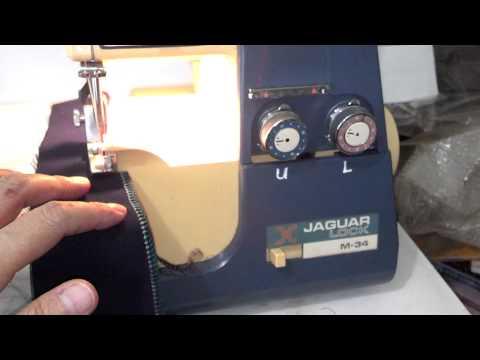 Jaguar Lock M-34 serger (aka White 534 Superlock)