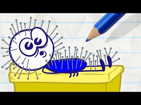 Pencilmate Gets Bad Service! -in- DON'T SHOOT THE MASSAGER - Pencilmation Cartoons for Kids
