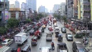 Bangkok Thailand Protest City March 2010