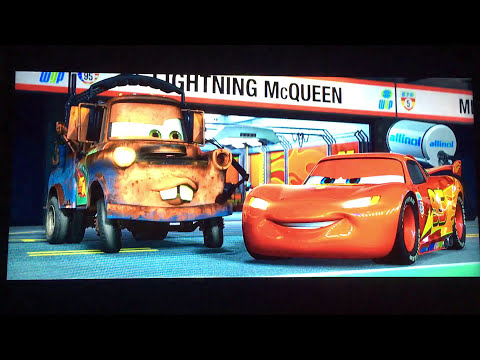 Opening to Cars 2011 Blu-Ray