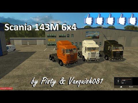 Scania 143M 500 v1.0 Beta