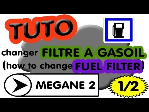 comment demonter filtre a gasoil megane 2