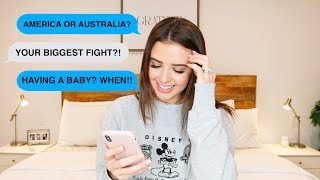 Video HONEST Q&A - OUR BIGGEST FIGHT, HAVING A BABY, BEING A CHRISTIAN + MORE | Jess Conte MP3, 3GP, MP4, WEBM, AVI, FLV Januari 2018