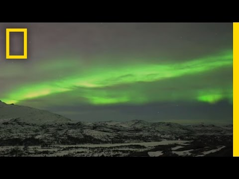 Aurora - The Northern Lights are one of nature's most spectacular visual phenomena, and in this time lapse video they provide a breathtaking display of light, shape, ...
