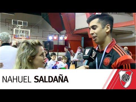Nahuel Saldaña, campeón del Torneo Metropolitano