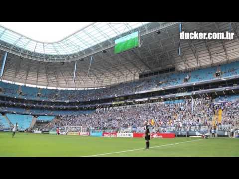 Essa torcida, que não deixa de apoiar - Geral do Grêmio - Grêmio