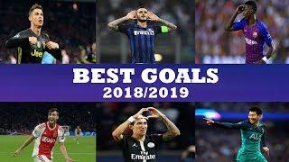 Video Best Goals Champions League 2018/2019 MP3, 3GP, MP4, WEBM, AVI, FLV Juli 2019