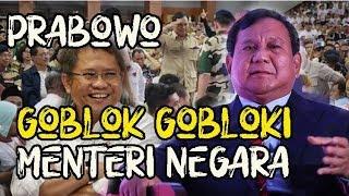 Video Prabowo S3r4ng Jenderal, Hi n4 Prajurit dan Goblok Gobloki Menteri dengan Data yang Dipelintir MP3, 3GP, MP4, WEBM, AVI, FLV Maret 2019