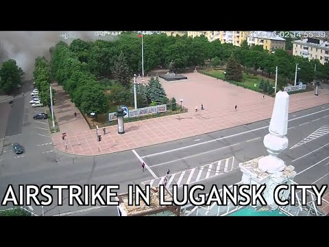 Roses Have Thorns (Part 11) Airstrike in Lugansk City
