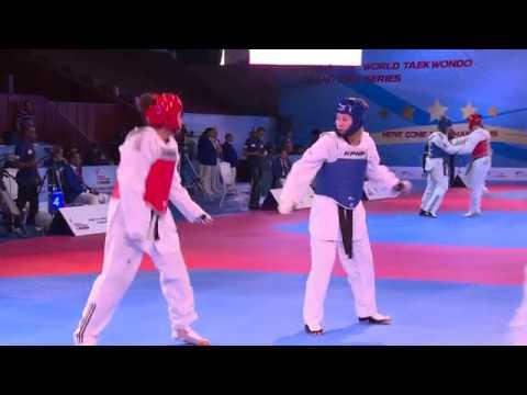 Coup d'envoi du Grand Prix de taekwondo de Rabat