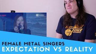 Video Voice Teacher Reacts to Female Metal Vocalists: Expectations vs Reality MP3, 3GP, MP4, WEBM, AVI, FLV Januari 2019