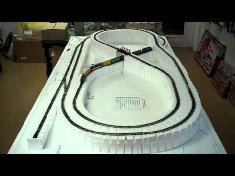 White Rose Hobbies N Scale Layout Build #1