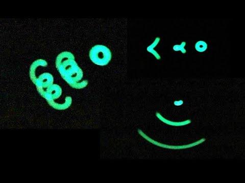 Machine Polisher Glow in the Dark Geometric Dynamics