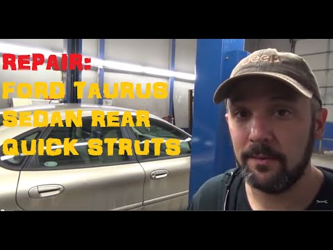 Replace Rear Struts Ford Taurus Sedan