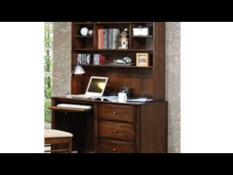 Video Video advertisement for the Scottsdale Walnut Computer Desk