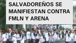 image of Salvadoreños los invitamos a manifestarse contra los politicos de EL SALVADOR