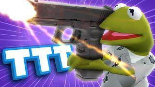 Winning Gmod TTT with the Worst Gun in the Game