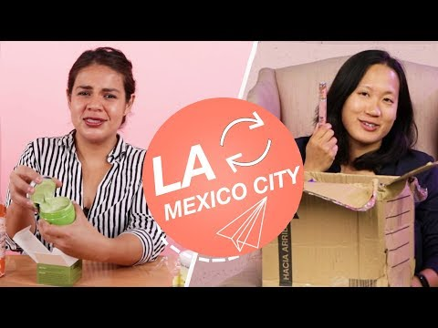 Strangers Swap Mystery Beauty Boxes • LA & Mexico City