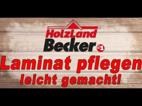 Laminat pflegen - Laminat Pflege Tipps von Holzland Becker