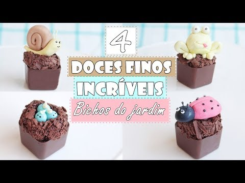 4 doces finos infantis