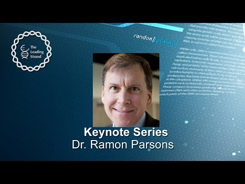 CSHL Keynote Series, Dr Ramon Parsons, Icahn School of Medicine at Mount Sinai