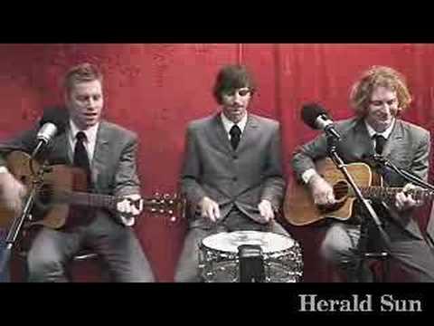 Basics - The Basics perform in the Herald Sun studio.