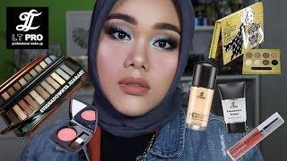 Video LT PRO ONE BRAND MAKEUP TUTORIAL | Eyeshadownya juarak!!! MP3, 3GP, MP4, WEBM, AVI, FLV November 2018